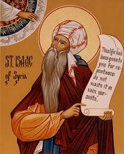 Icon of St. Isaac of Syria
