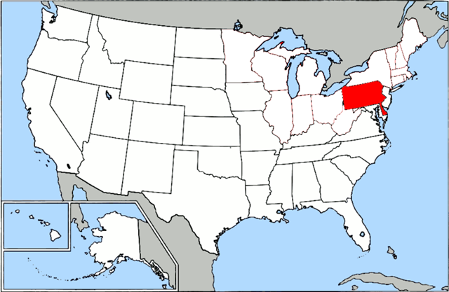 File:Map of USA highlighting OCA Diocese of Eastern Pennsylvania.png