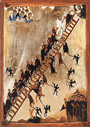 Ikon of the Ladder of Divine Ascent (St. Catherine's Monastery, Sinai Peninsula, Egypt