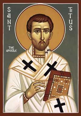 ST TITUS of Crete