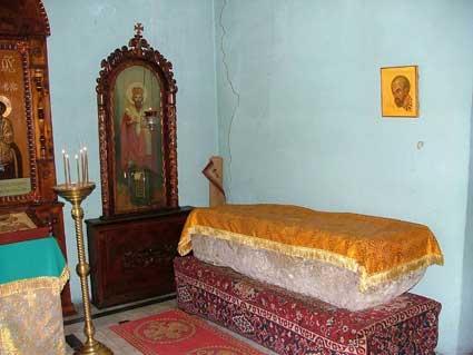 Johannes' kiste i Komana
