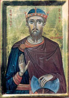St. Olaf, King of Norway