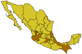 File:Map of Mexico highlighting OCA Mexican Exarchate.png