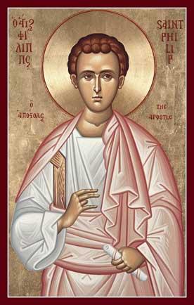 Image result for apostle philip icon