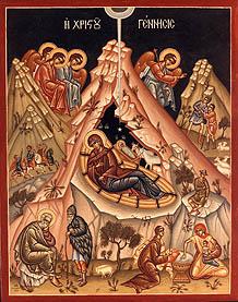 Nativity icon - OrthodoxWiki