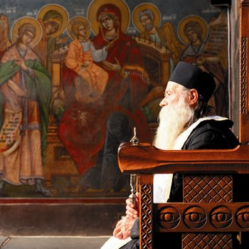 Eglise Orthodoxe de Roumanie, un hieromoine