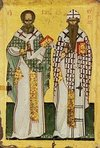 Ss. Athanasius and Cyril of Alexandria
