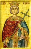 Empress Saint Helen with the Precious Cross