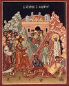 Raising of Lazarus the Just, the friend of Christ