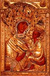 Tikhvin icon of the Theotokos
